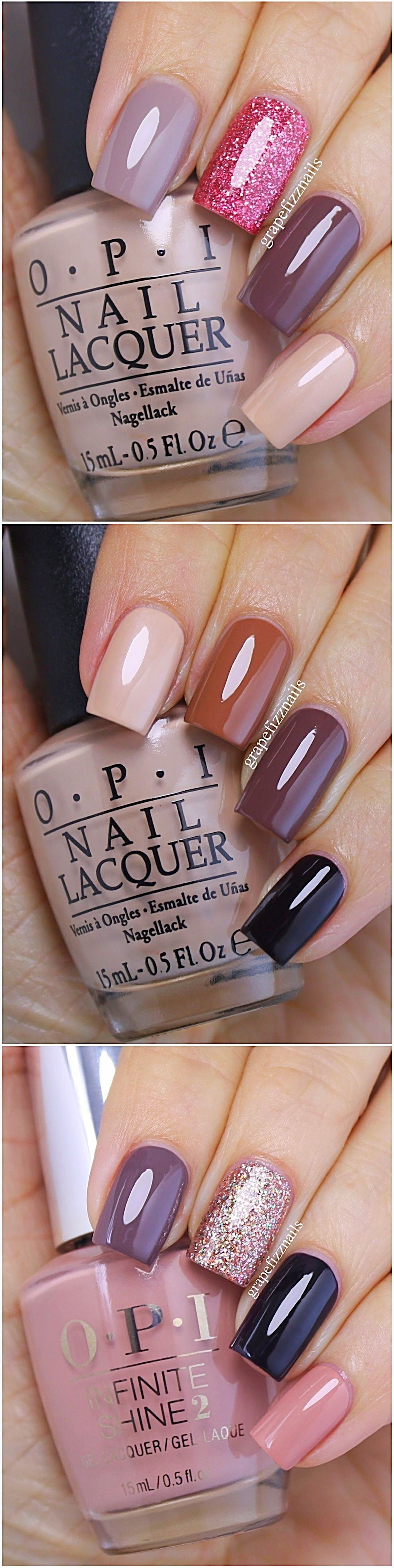 OPI Nail Polish Color Swatches  Opi nail polish colours Nail