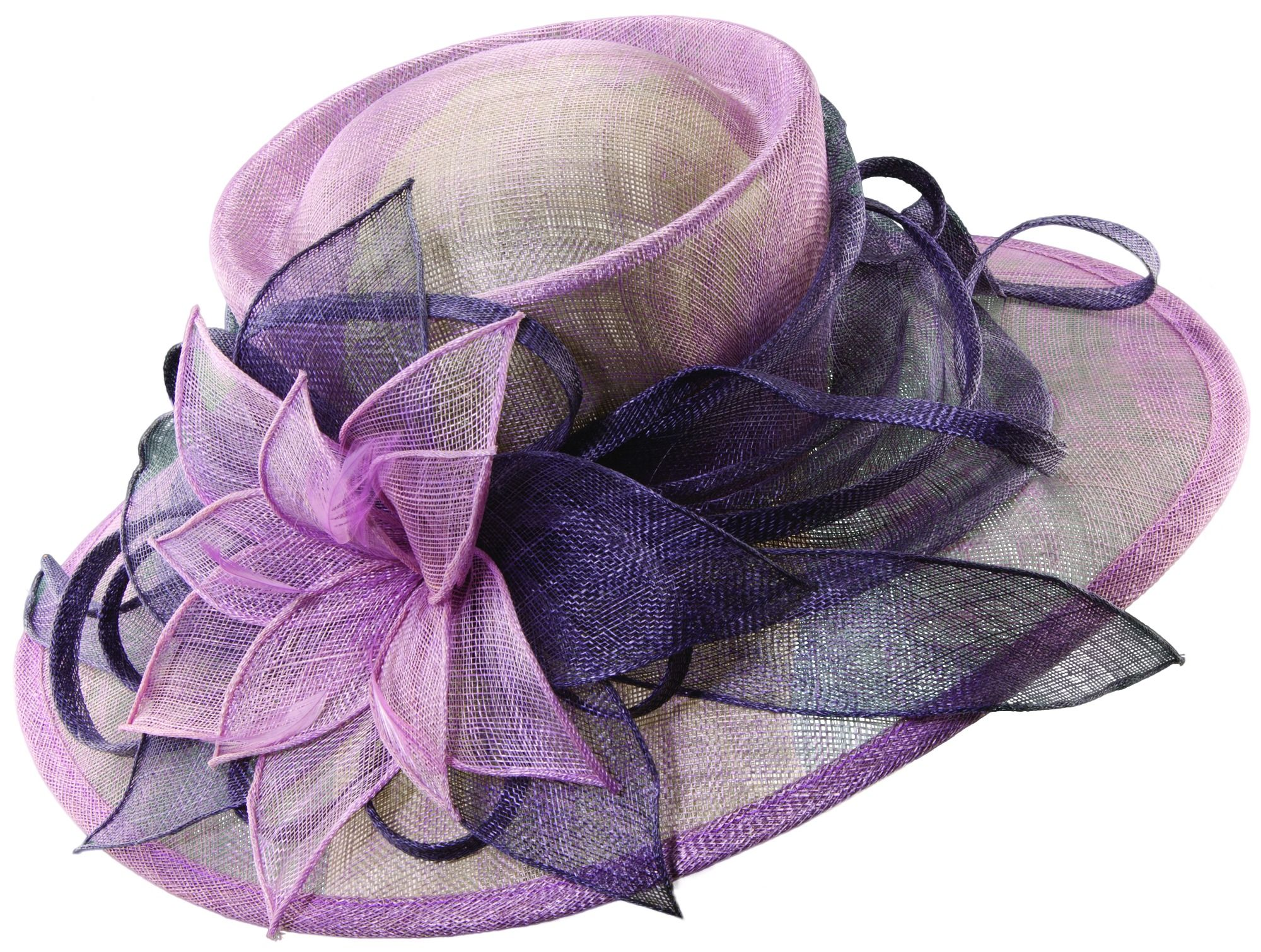NEW-Ladies Broad Brim Dress Hat by Scala-Free Same Day Shipping ...