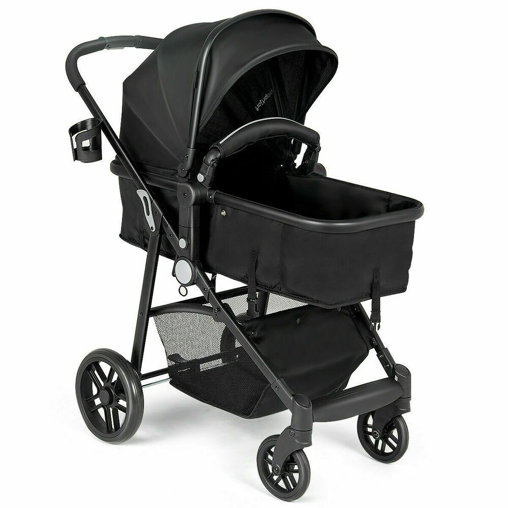 2 In 1 Foldable Baby Stroller Kids Travel Newborn Infant