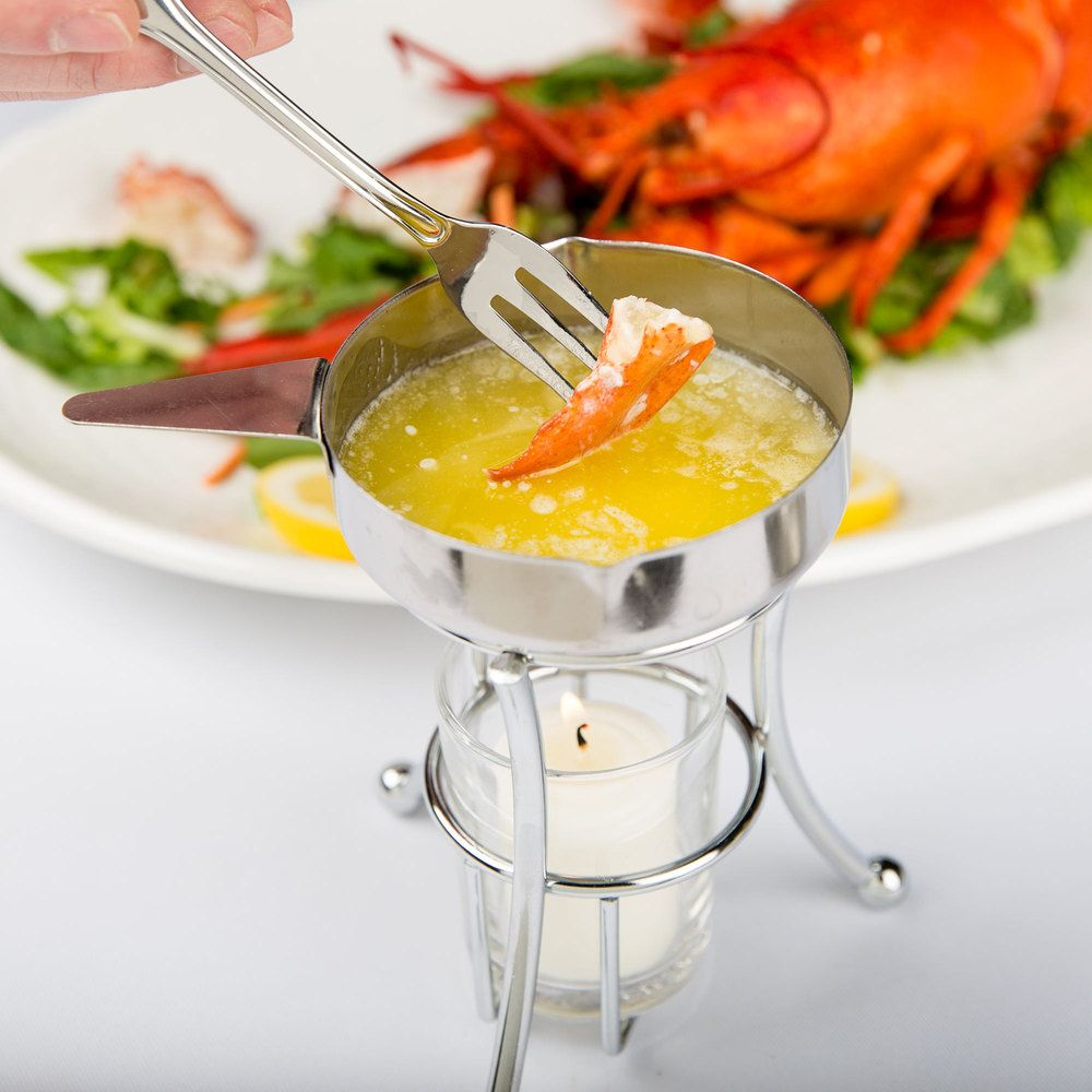 Butter Melter With Pan Lobster Boil Seafood Butter