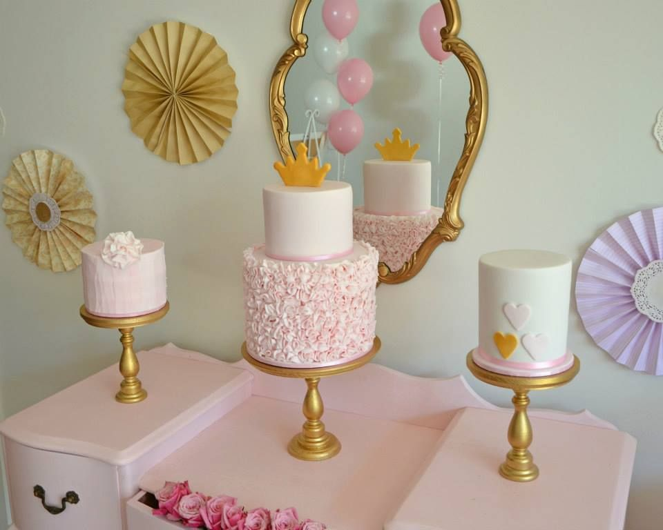 princess tea party baby shower ideas
