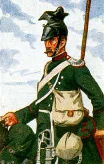Bayerische Kavallerie - Ulan d. 2. Ulanen-Rgts., 1870.