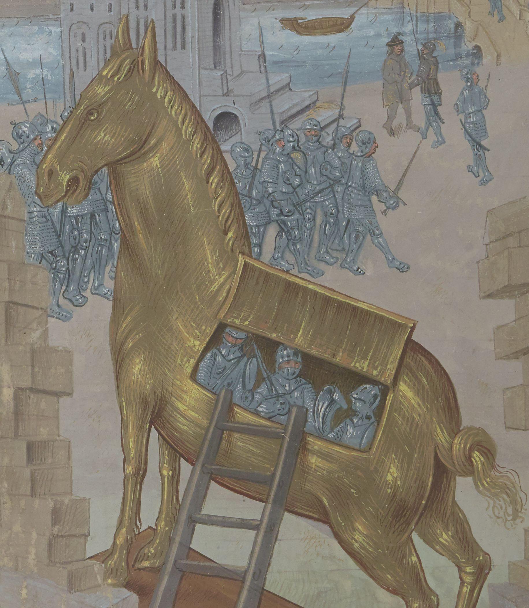 « Recueil des Hystoires de Troye, composé par Raoul LE FEVRE, prestre chappellain de Mgr...le duc Phelippe de Bourgoingne, en l'an de grace mil CCCC LXIIII ».