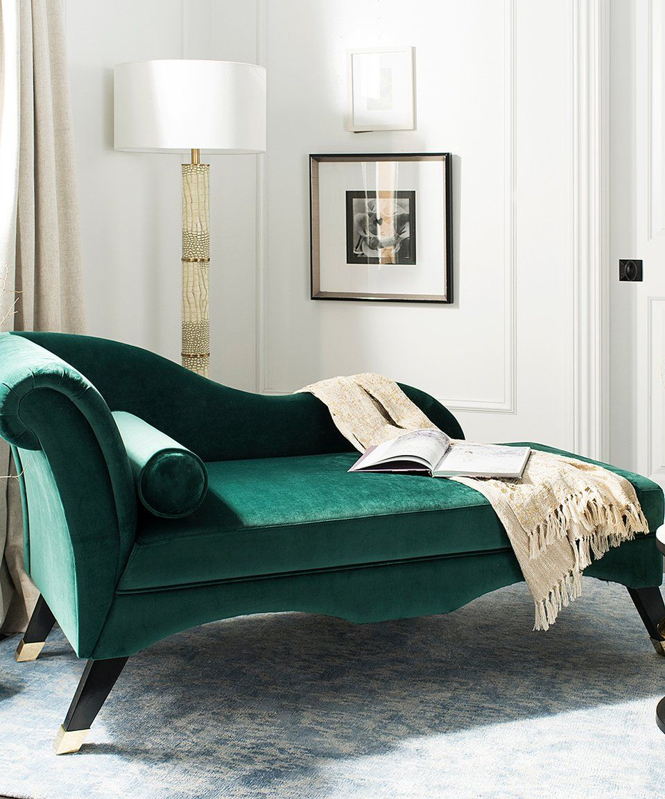 Take A Look At This Emerald Caiden Velvet Chaise Today Velvet Chaise Lounge Chaise Lounge Tufted Chaise Lounge