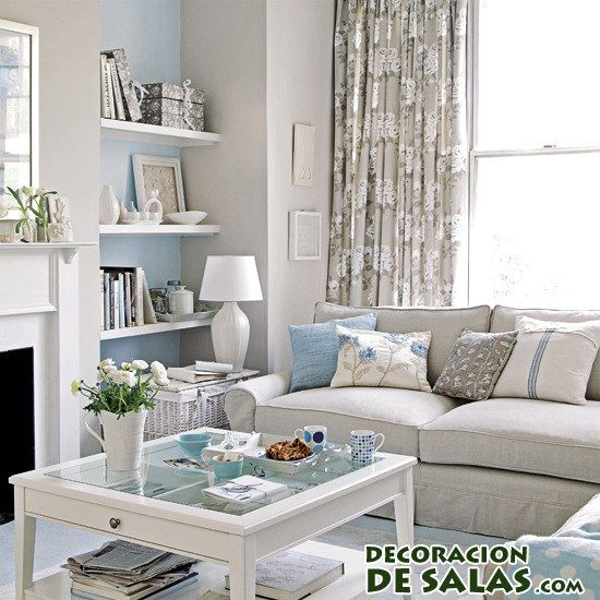 salones combinados en color blanco Decoraci Pinterest Ideas