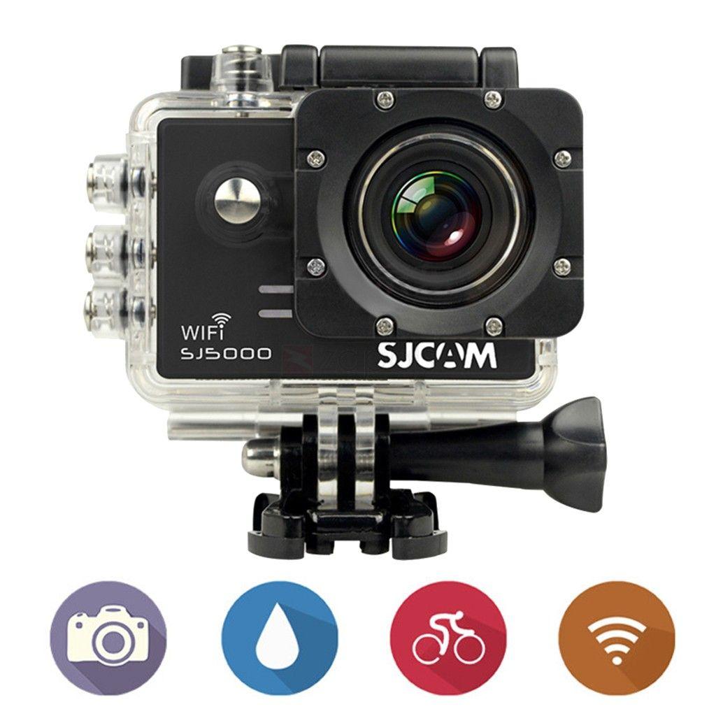 SJCAM SJ5000 HD Action Camera with WiFi Black, Panasonic