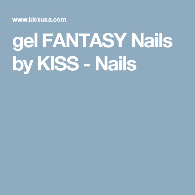 gel FANTASY Nails by KISS - Nails   Nails   Pinterest   Kiss nails