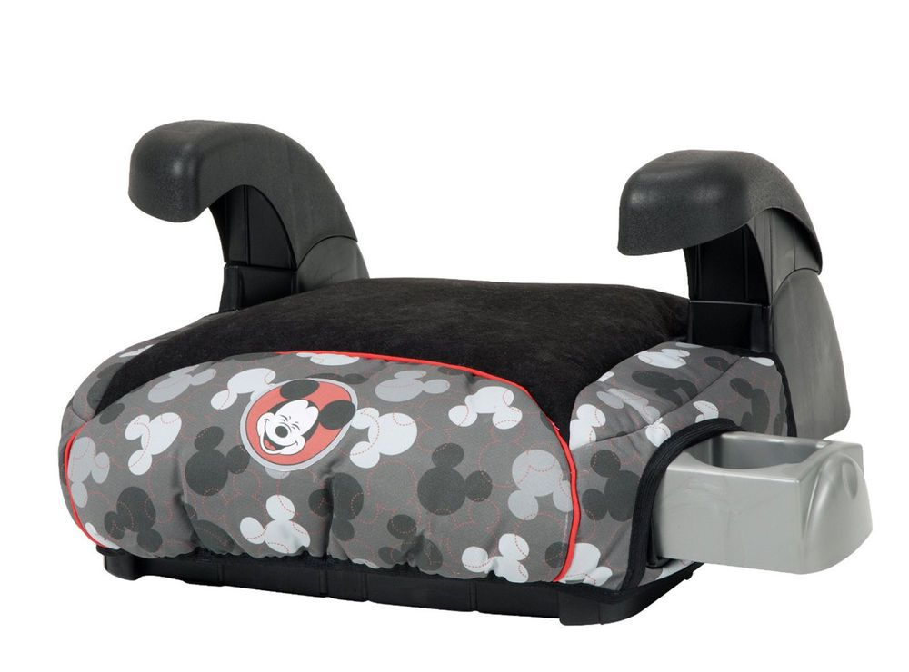 New Disney Mickey Mouse Backless Car Seat Booster Cup Holders Child Safety From 5995