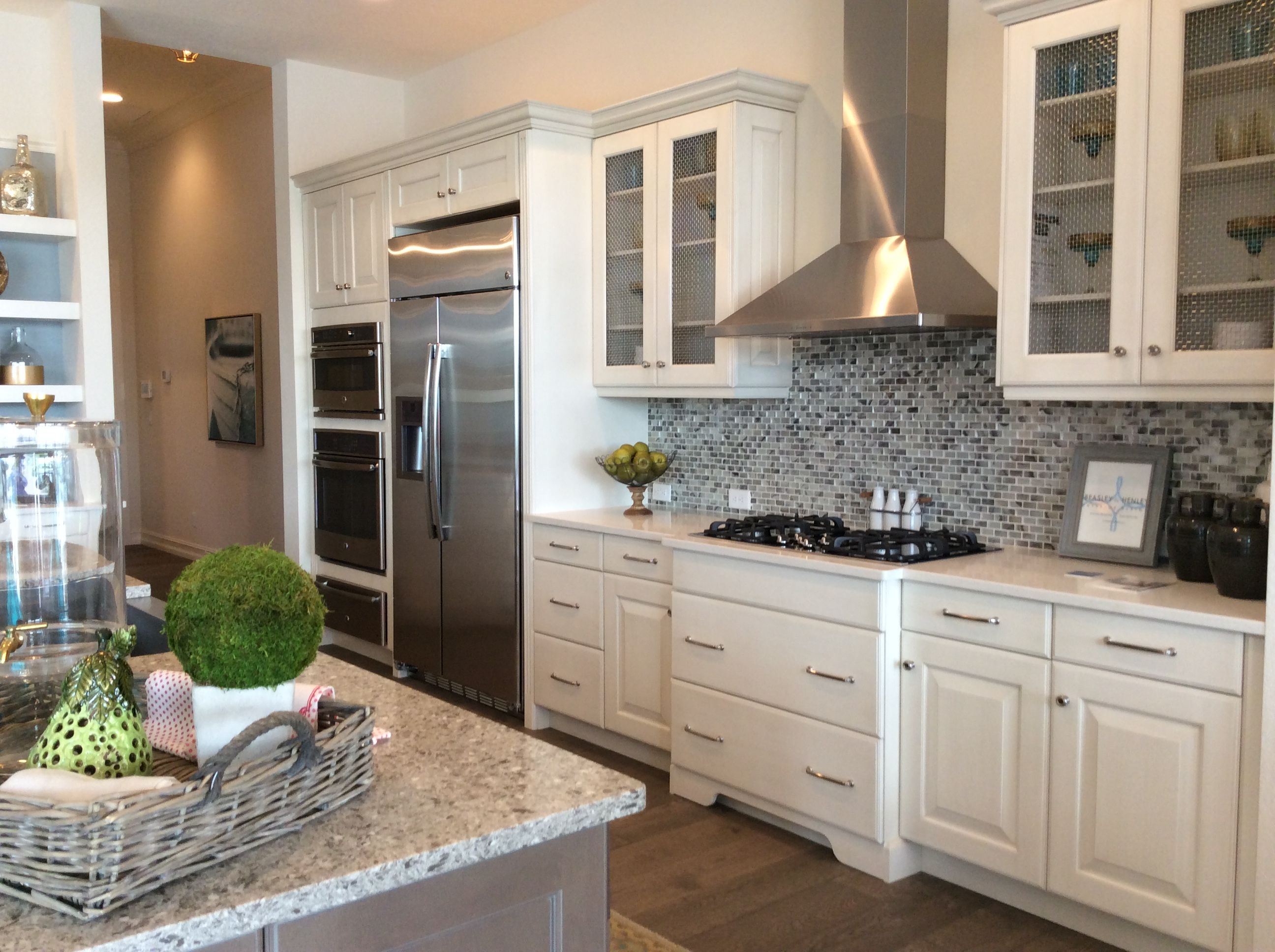 Kitchen design ideas by Beasley  Henley Interior Design WCI Communities home in Naples Florida
