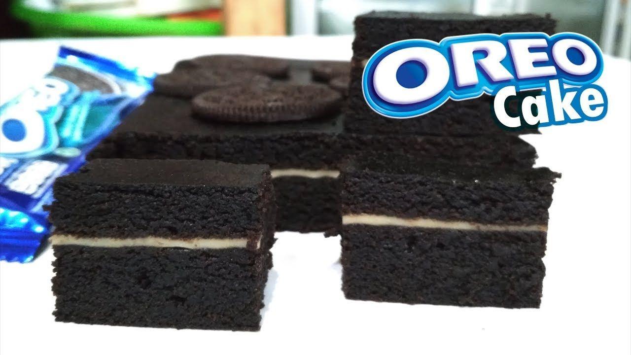 Resep Cara Membuat Oreo Cake Viral Paling Mudah 2 Bahan Saja Youtube Kue Oreo Oreo Variasi Makanan