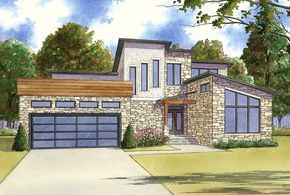 3 Bed Modern with Upstairs Sleeping Loft - 70522MK | 1st Floor Master Suite, Butler Walk-in Pantry, CAD Available, Contemporary, Loft, Mediterranean, Modern, PDF, Split Bedrooms | Architectural Designs