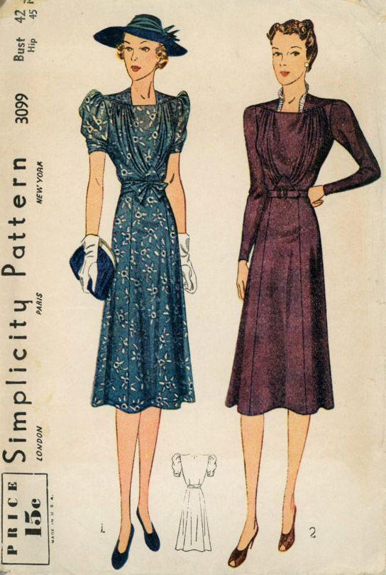 Wonderful 1930s Fashion  Gorgeous Autumn Styles For 1934  Glamourdaze