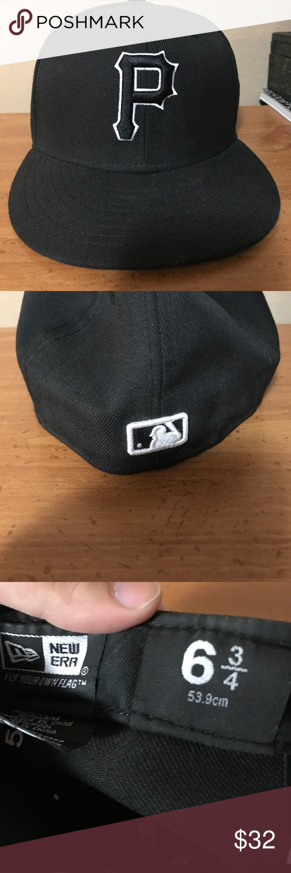 Fitted Pittsburgh Pirates Hat Pirate Hats Pirate Accessories Hats