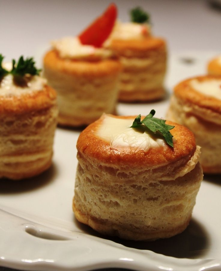 High Tea Savouries These And Mini Samosa/spring Rolls And