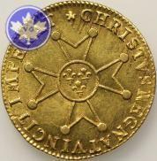 FRANCE-1718A-LOUIS XV-1715-1774-LOUIS OR A LA CROIX DU SAINT ESPRIT-SUP
