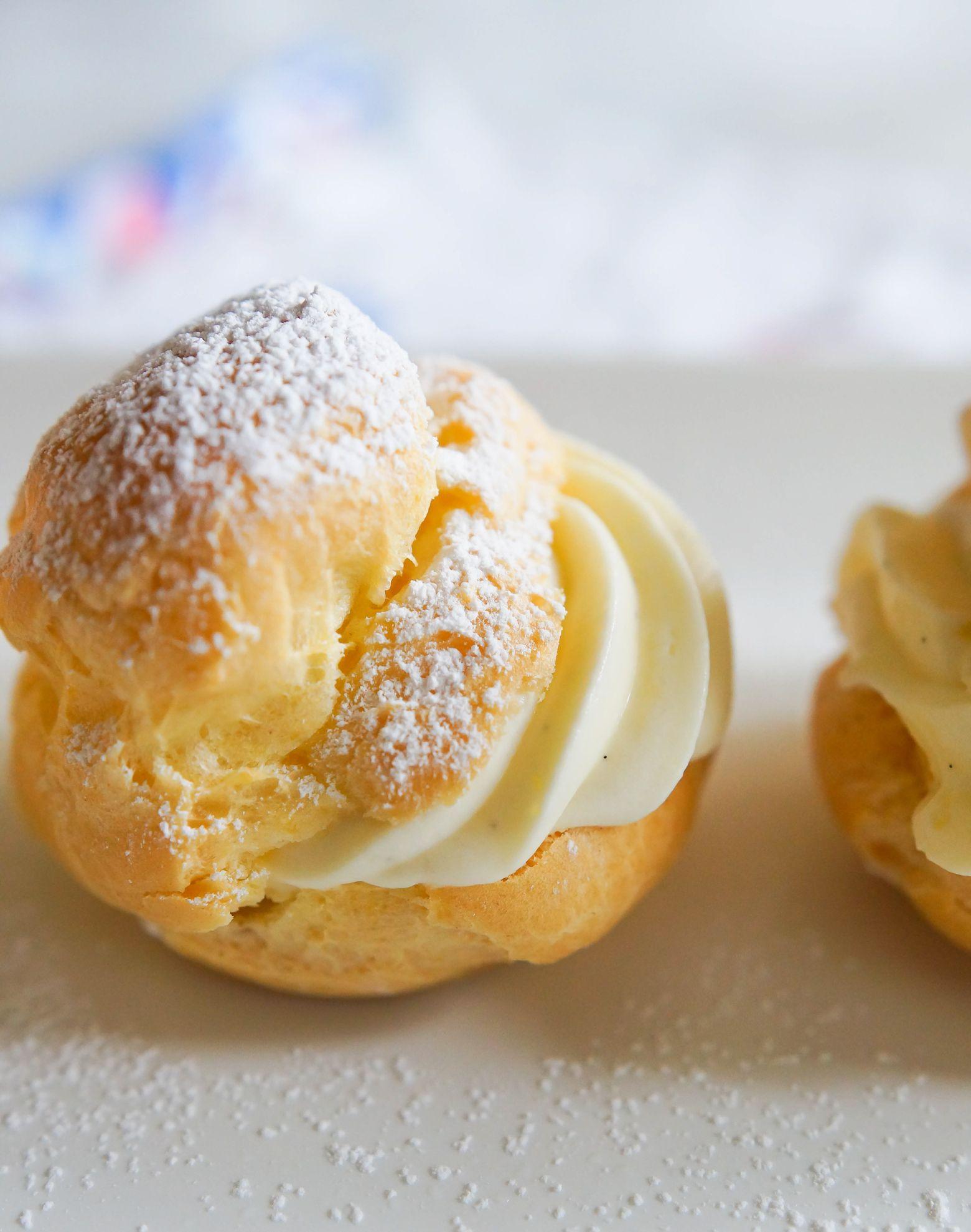 How To Make Cream Puffs Recipe Cream Puff Recipe Cream Puffs Diy Food Recipes