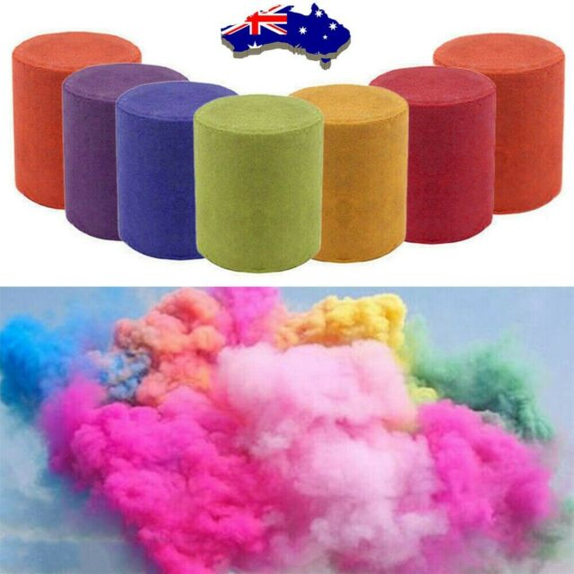 Colorful Smoke Cake Effect Show Round Bomb Photography Videos Stage Toy Gifts