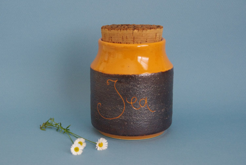 ON HOLD Retro kitchen canister Hanstan Australian Studio