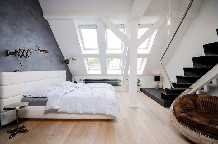 Schlafzimmer Wandlampe ~ Wohnung gestalten schlafzimmer design ideen weißes wohndesign