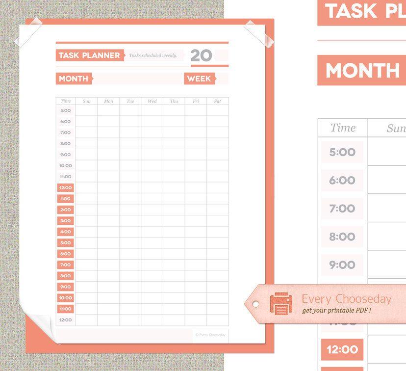 To Do List Weekly Schedule  Bonus Master To Do List - PDF