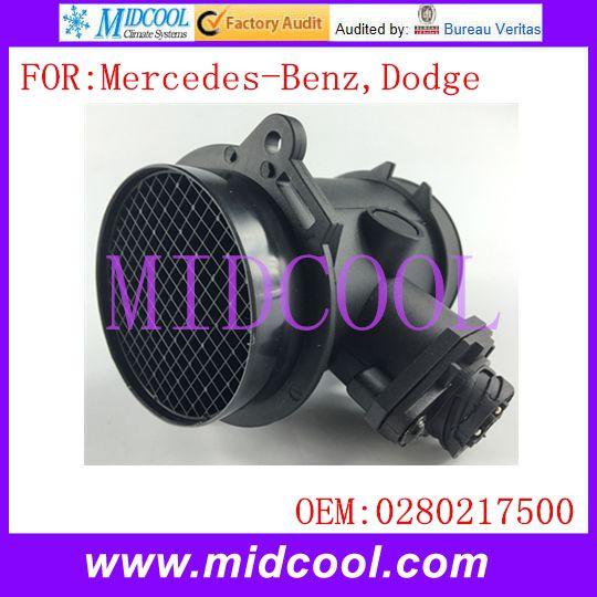 New Mass Air Flow Sensor Use Oe No 0280217500 0280217501 0000940548 A0000940548 For Mercedes Benz Dodge Mercedes Benz Benz Mercedes