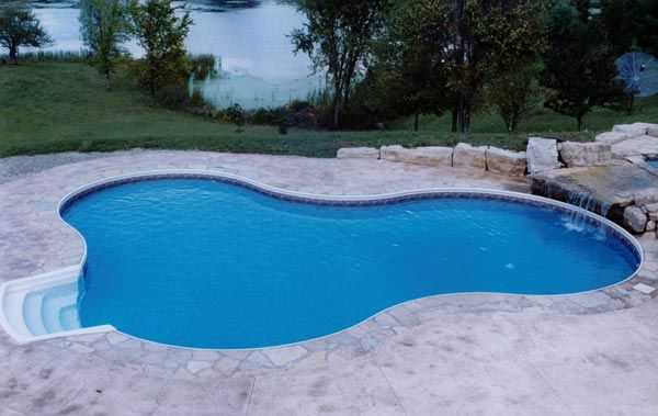 Taormina Pool Shape Bigger Shallow End Freeform Design Pool