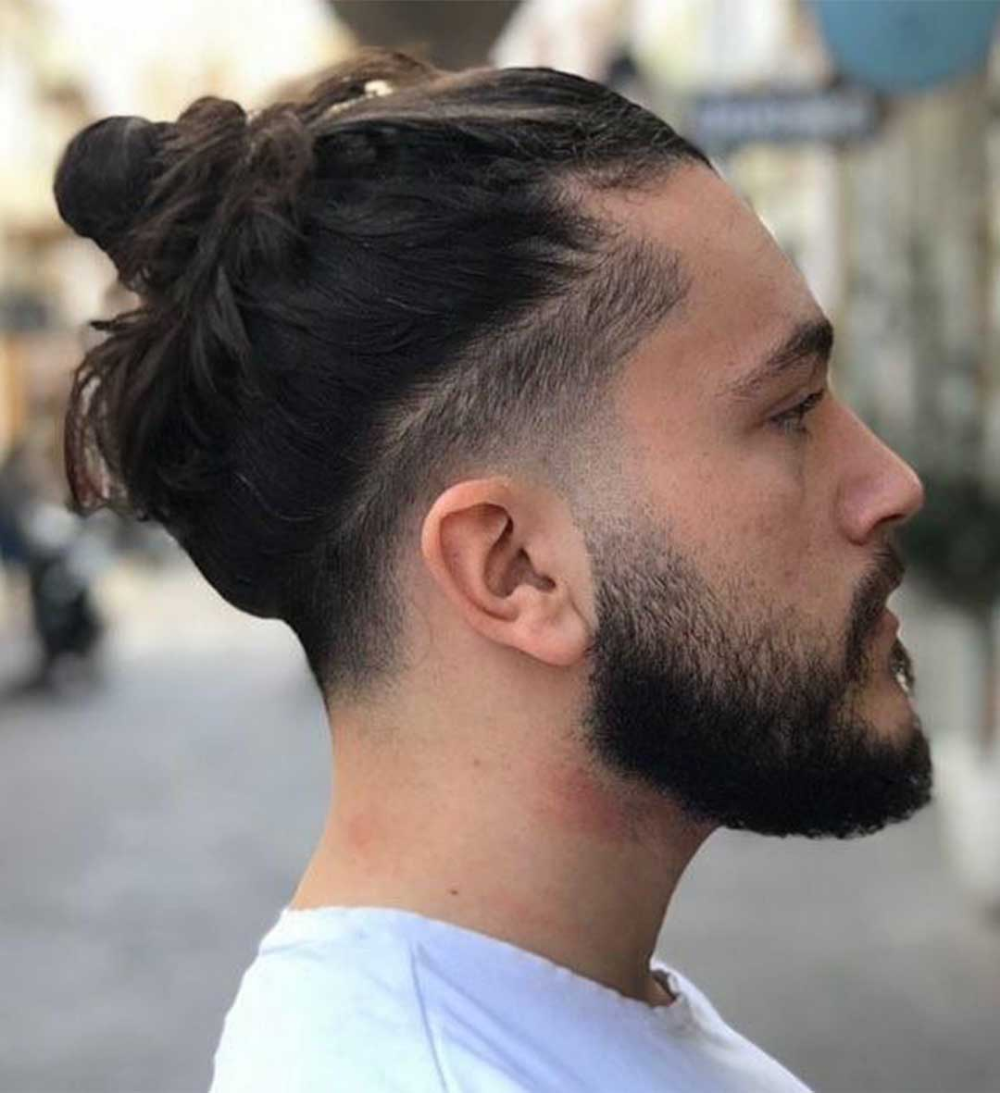 Pin On Man Bun Hairstyle