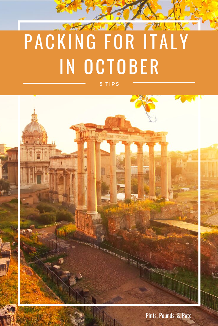 What To Wear In Italy Italy In October Florence Travel October Travel