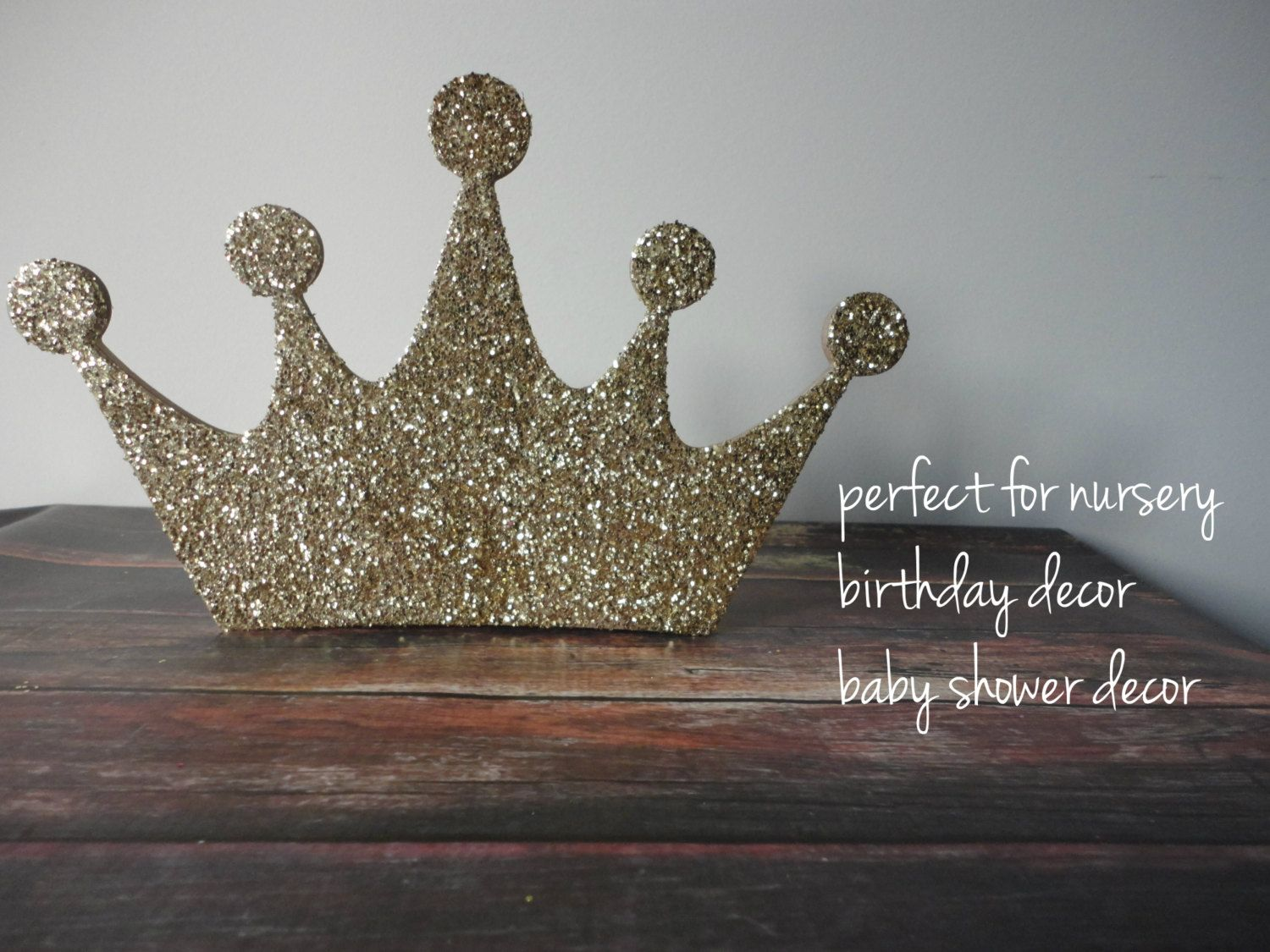 Gold glitter crown gold glitter crown decor birthday party decor gold glitter crown gold glitter crown decor birthday party decor nursery decor amipublicfo Image collections