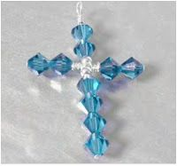 The Beading Gem's Journal: Cross Pendant Tutorials- From Wire Work to Beaded Tatting