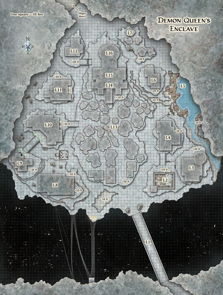 Fantasy Map, Fantasy City Map