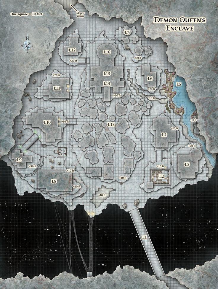 Underdark Map 5e : underdark, Underground, Fantasy, Tabletop