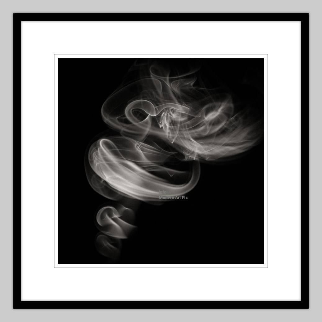 MAE Curates - Smoke - abstract photography For Sale at 1stdibs