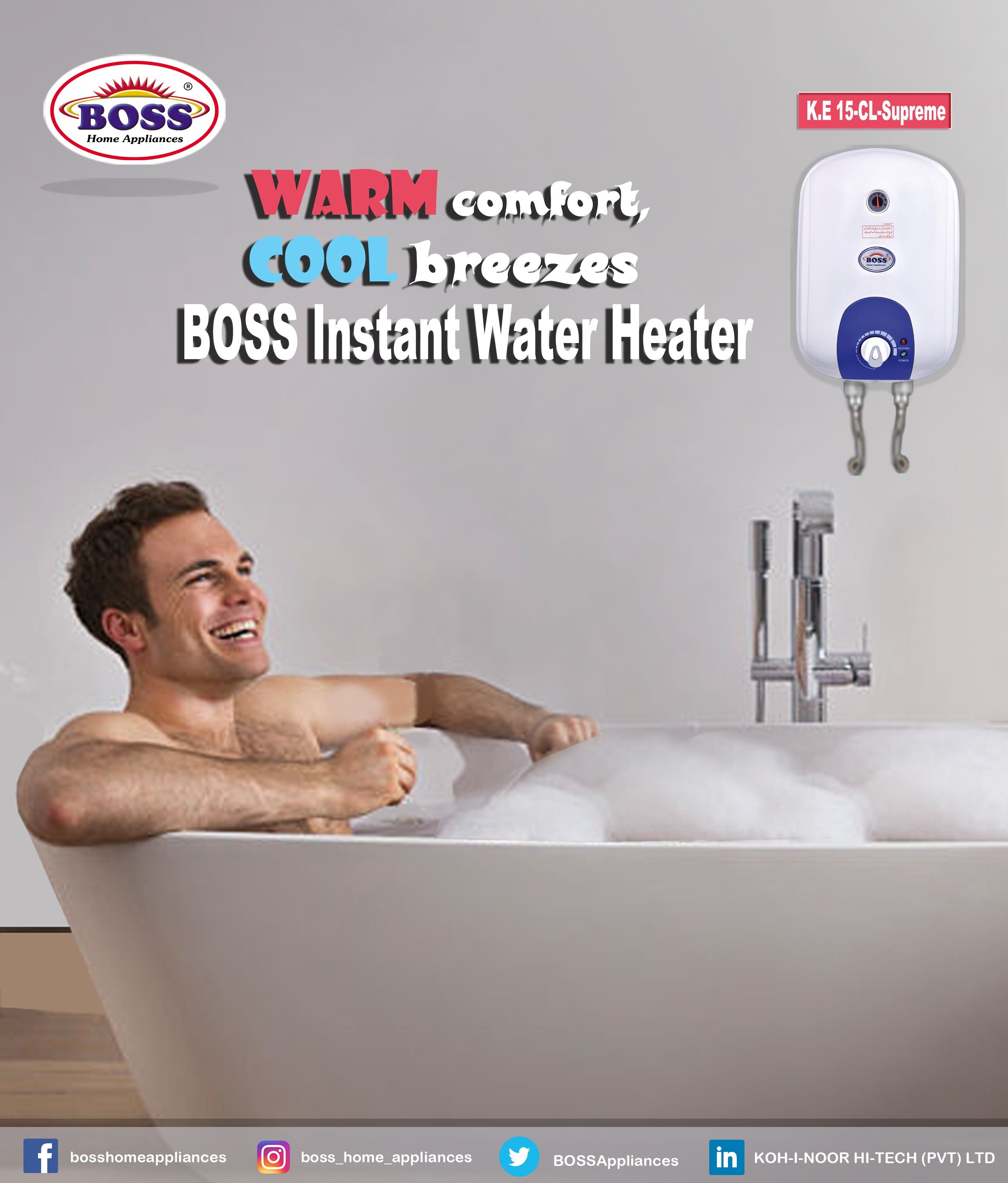Pin By Boss Home Appliances On Products Instant Water Heater Water Heater Home Appliances
