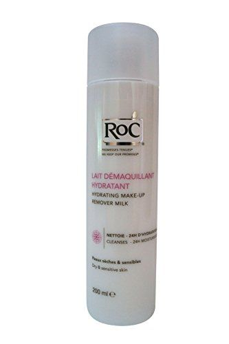 Roc Hydrating Makeup Remover Milk For Dry Sensitive Skin 200ml68oz Click Image For More Details Make Up Remover Dry Sensitive Skin Hydrating Makeup