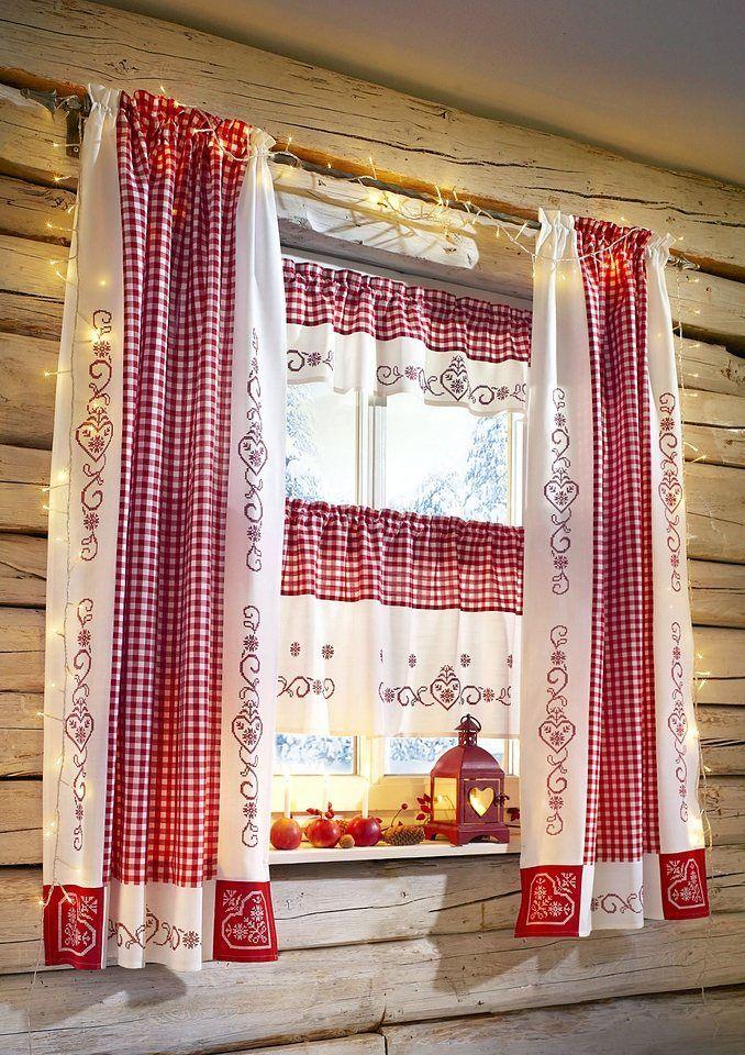 картинка деревенских занавесок на окна рекомендуется
