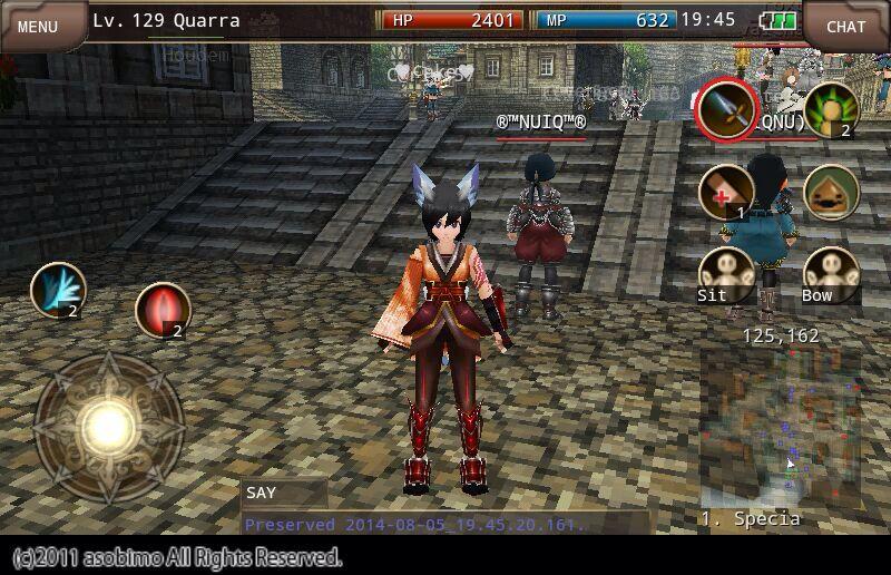 Quarra the fox of iruna online