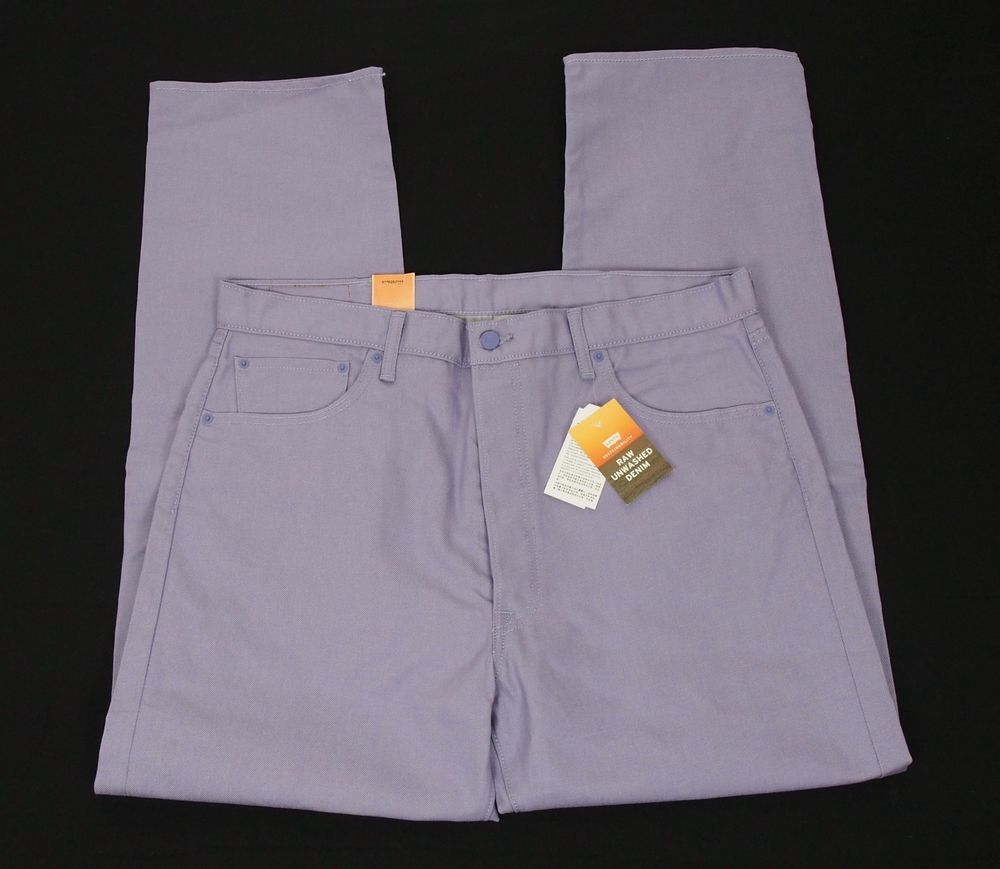 cbacacb85e New Levis 501 Straight Leg Purple Cotton Denim Jeans Mens 38 x 32  fashion   clothing  shoes  accessories  mensclothing  jeans  ad (ebay link)
