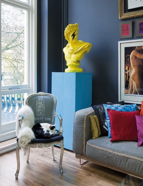 Artistic Chic style - loft appartment in London - Elle Decor archive