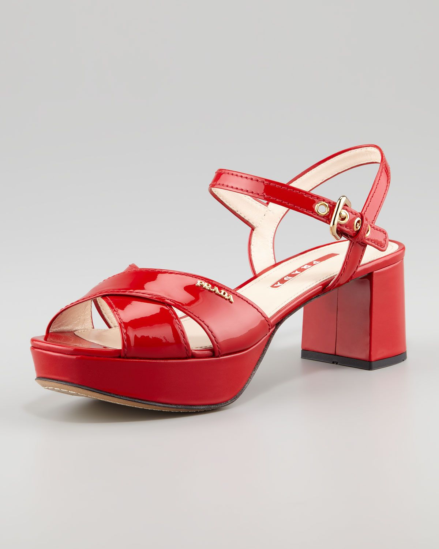 215539e95aa Discover ideas about My Bags. Patent Crisscross Platform Sandal ...