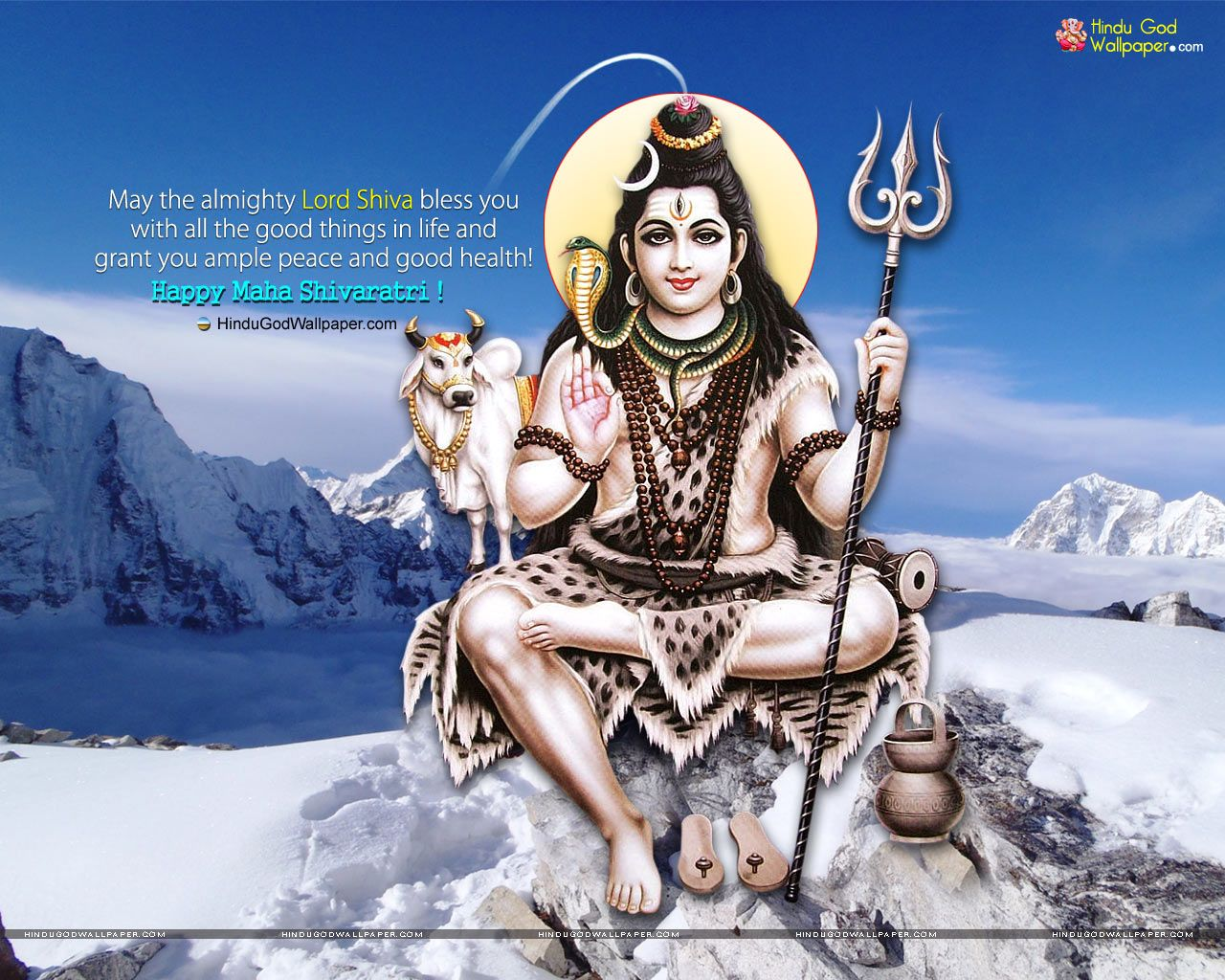 Shivratri Wallpaper with Quotes Free Download Happy