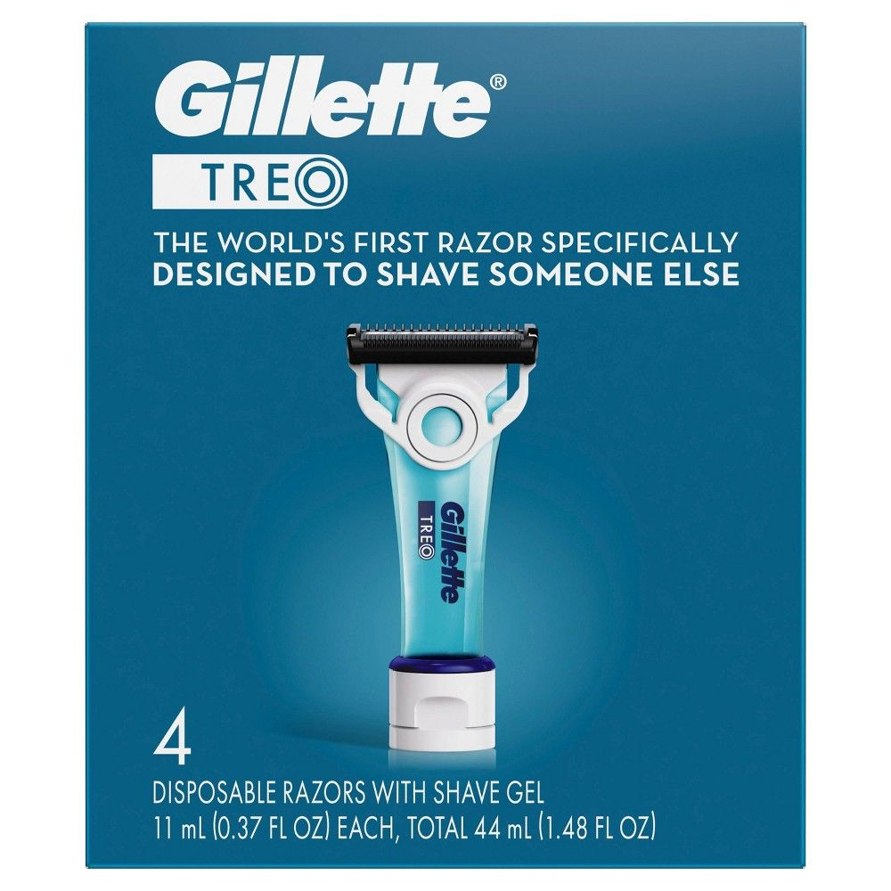 Gillete Treo Disposable Razor - 4ct