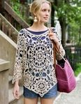 crochet top with diagram