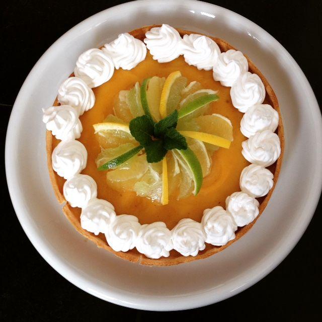 heerlijke citroentaart!
