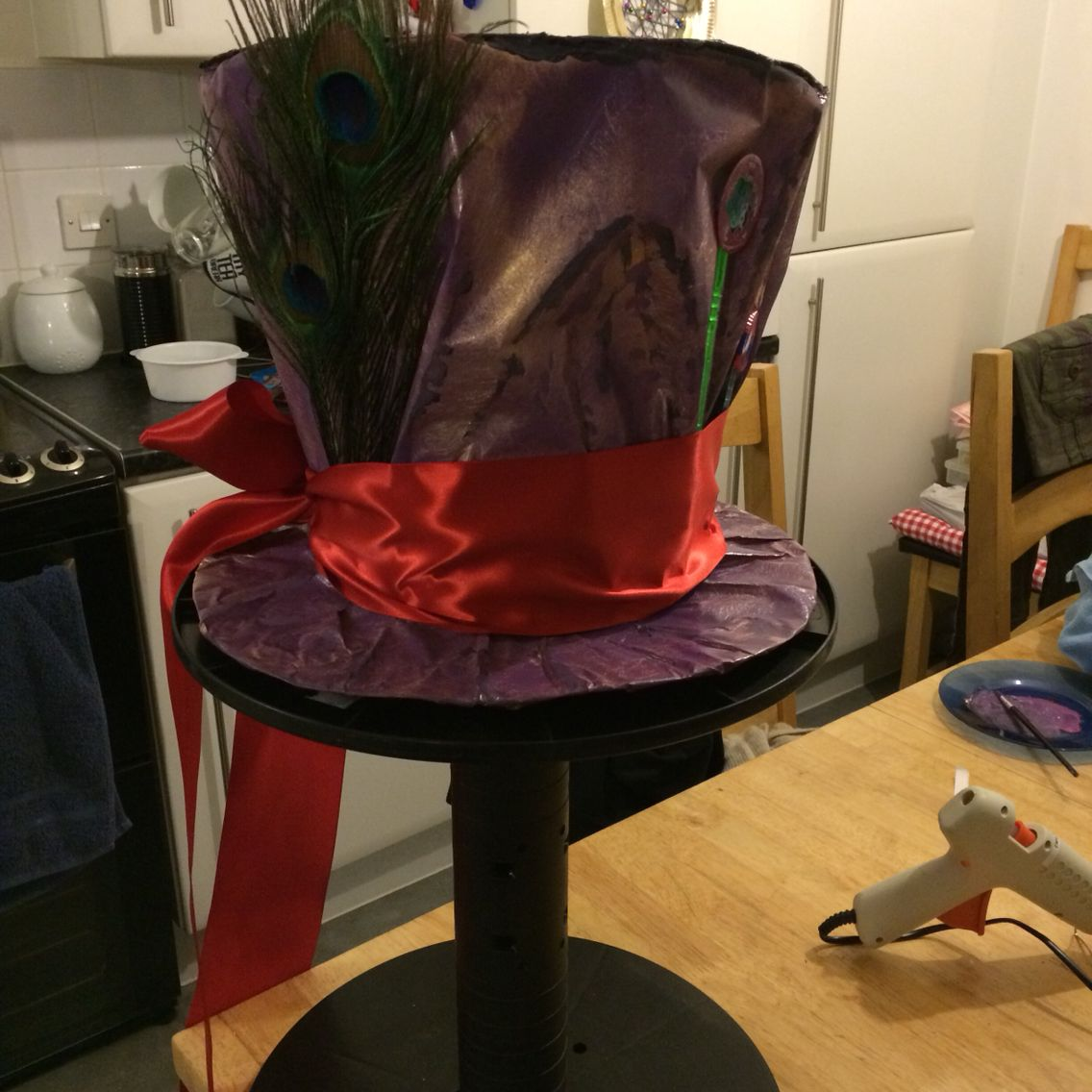 Mad hatters hat...great fun to make