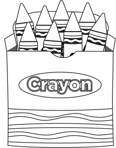 crayons coloring pages crayon coloring page | School   Back To School | School coloring  crayons coloring pages