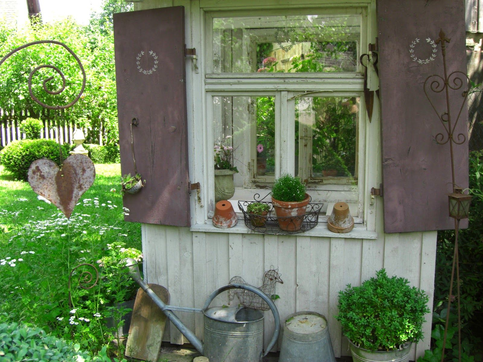 landliebe cottage garden garden elements pinterest. Black Bedroom Furniture Sets. Home Design Ideas