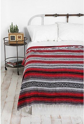 Falsa Blankets Make Excellent Throws. Try It On White Sheets For Maximum Color  Pop.