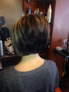 A Line Bob Round Face Google Search Hair Pinterest