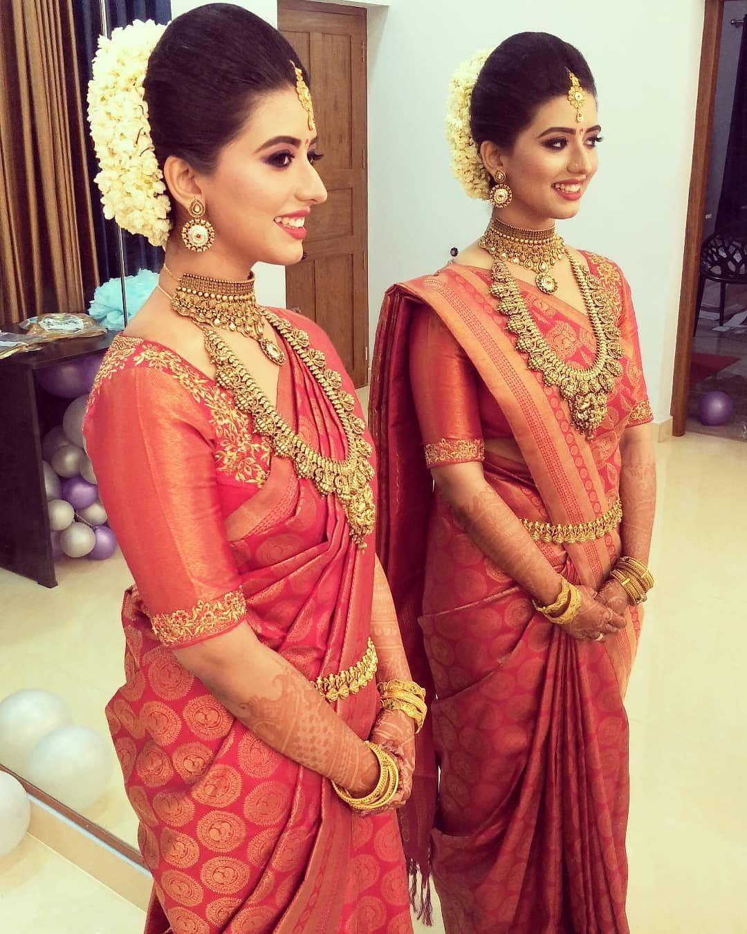 Wedding Sarees For Bride Kerala Hindu: Hindu Wedding Makeup Work In Kerala